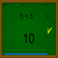 Addition Math Game