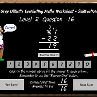 Everlasting Maths Worksheet -